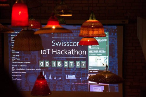 The clock is ticking at Switzerland's largest IoT Hackathon with Swisscom and Impact Hub Zürich