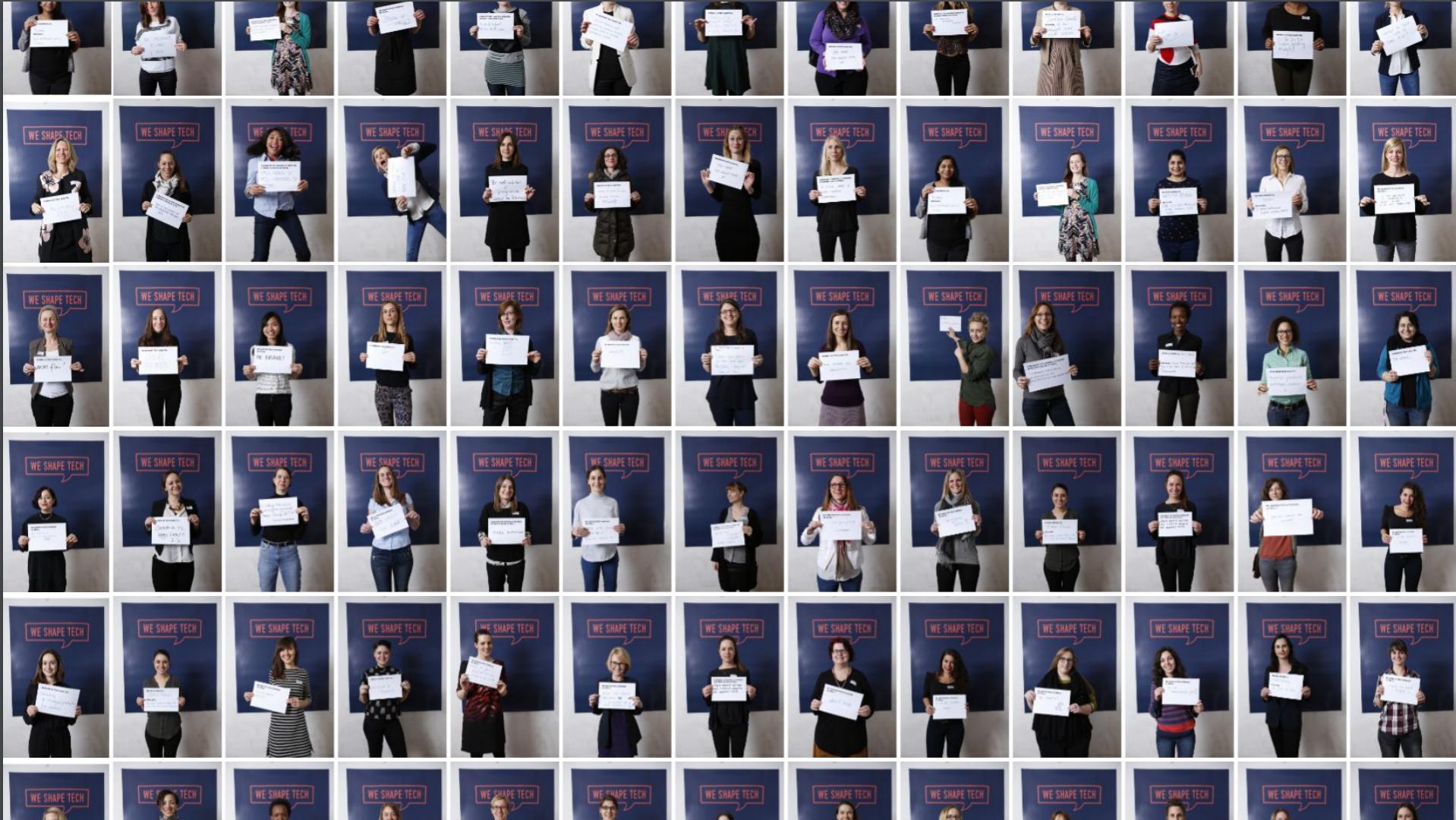 The 100 women of We Shape Tech